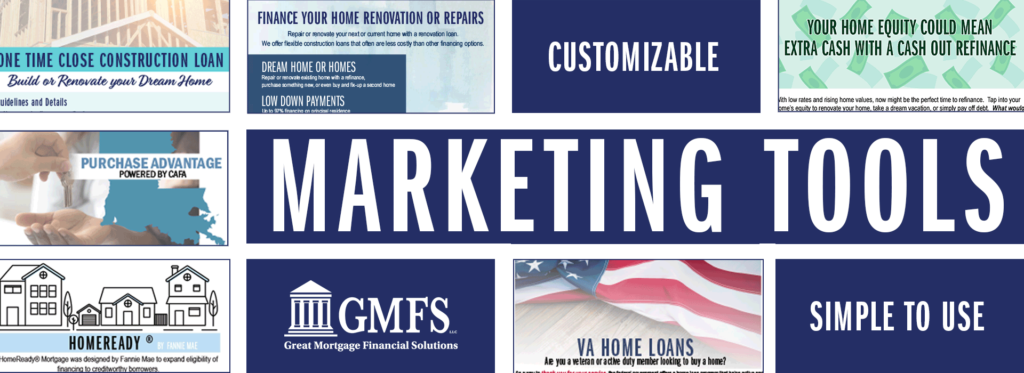 Marketing Tools for GMFS Agent Partners